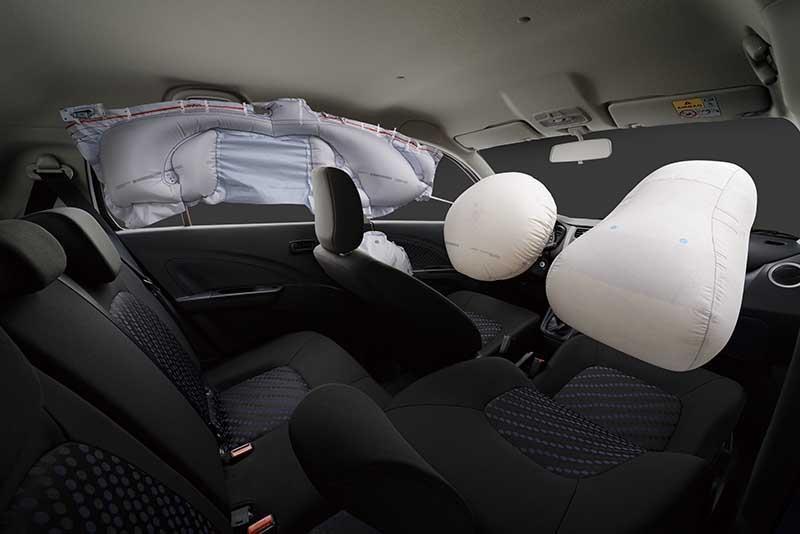 Celerio airbags